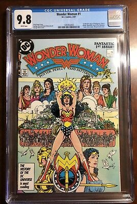 Wonder Woman #1 1987 CGC 9.8 White Pages