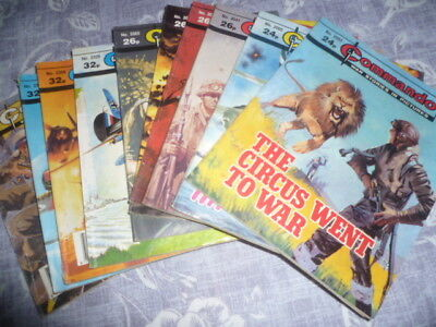 BUNDLE - 10 x COMMANDO (NOS. BETWEEN 2003 AND 2407 - SEE MAIN LISTING)