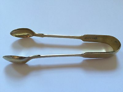 Silver Plated Sugar Tongs 'WP' William Page & Co Birmingham 1896