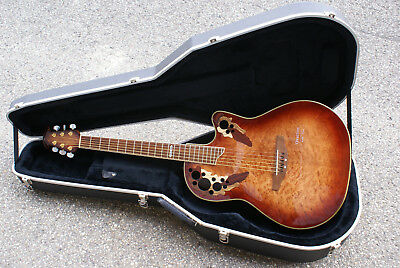 Limited Edition Ovation CS 2000 Roundback  Archtop mit Case Millenium Modell