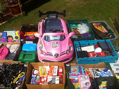 Large Job Lot, Many Mixed Items, Including Battery Operated Childs Car. Pick Up.