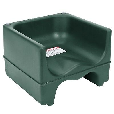 Cambro 200BC519 Green Dual Seat Booster Seat without Strap (4PK)