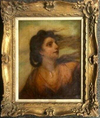 Mary Magdalene Painting Original Oil on Canvas Possibly  Ubaldo Gandolfi