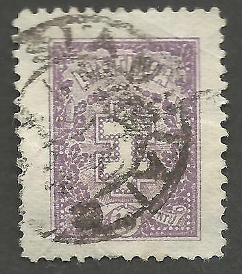 Lithuania Stamp 1926 10c Violet Protective Cross Very Fine Used