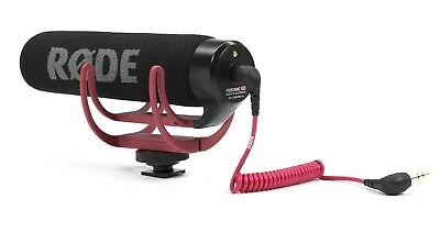 RØDE VideoMic GO On Camera Microphone - Black/Red