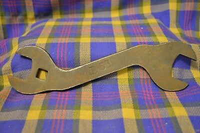 "Vintage Early 1900s JOHN DEERE #53 Tractor/Plow Wrench 1 1/4"" & 1 3/4"""