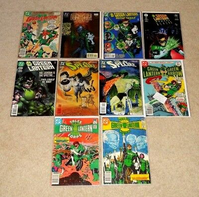 Green Lantern and Spectre comics_Varius issues_VF to NM