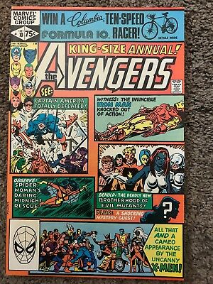 Avengers King-Size Annual #10 1981 Marvel Comic Book Nm+