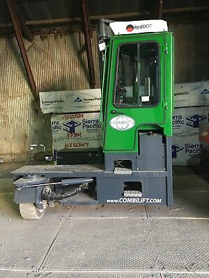 CombiLift C14000 Forklift, 2017 Year Model with 575 Hours, Kubota Powered