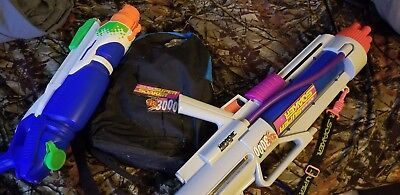 Super Soaker Cps 3000 Backpack By Larami Water Gun 13700