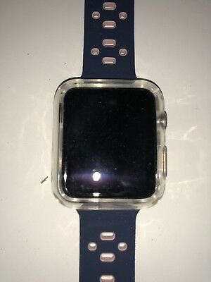 apple watch series 3 42mm with accessories minus the charging piece