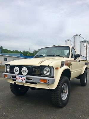 1981 Toyota Other  1981 toyota pickup 4wd long bed