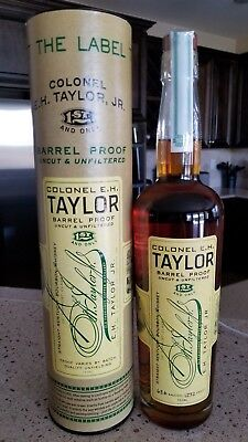 E H Taylor Barrel Proof Bourbon 127.2 With Tube