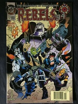 (5) R.E.B.E.L.S.94 NOs.01,2,3,and NO.4 featuring L.E.G.I.O.N. LOBO etc DC COMICS