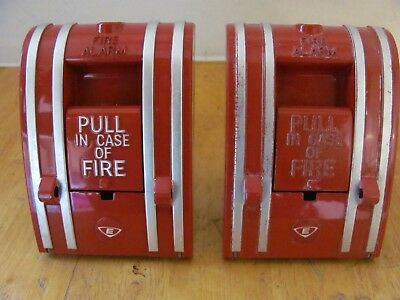 Edwards 270-SPO Fire Alarm Pull Station- Lot of 2