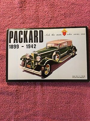 PACKARD 1899 - 1942, Softcover Book From 1973