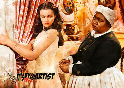 ACEO Gone with the Wind - Hattie McDaniel