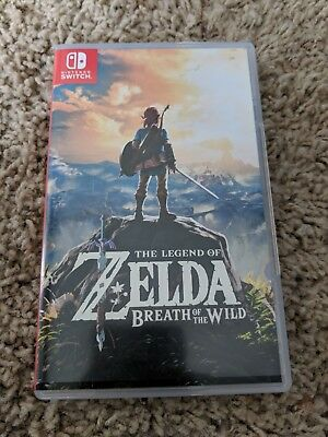 The Legend of Zelda: Breath of the Wild (Nintendo Switch) Special Edition Copy
