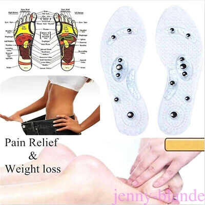 Acupressure Sole/Shoes Insole/ Pressure Points/Magnets Reflex Points Feet /Foot