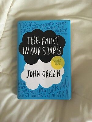 The Fault in Our Stars by John Green (2012, Hardcover, 1st Edition, Signed Copy)