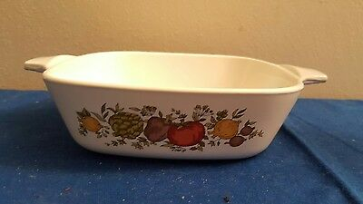 Vintage Corning Ware Spice of Life Petite 1 3/4 cup P-41-B Casserole Pan No Lid