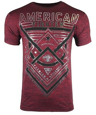 AMERICAN FIGHTER Mens T-Shirt DUSTIN NT Premium Athletic Biker MMA Gym UFC$40