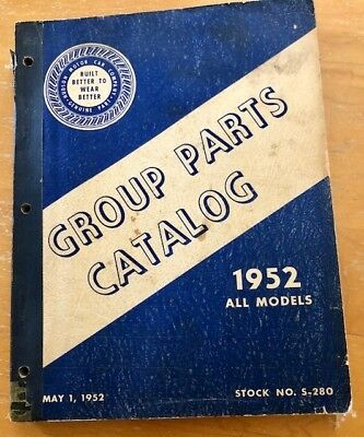 1952 Hudson Group Parts Catalog Hornet Wasp Pacemaker Commodore Car Photos