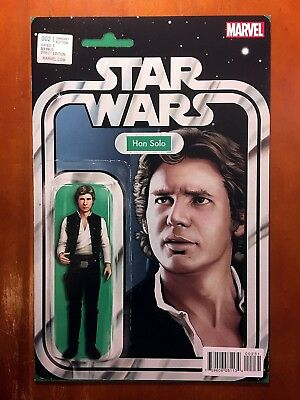 Star Wars #2 Nm John Tyler Christopher Han Solo Action Figure Variant!