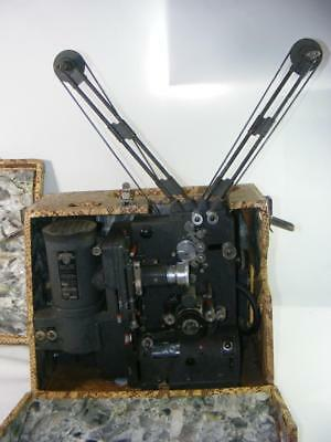 Victor 16mm Cine Projector Model 40 Tube Amp  Animatophone Type 13 in Case