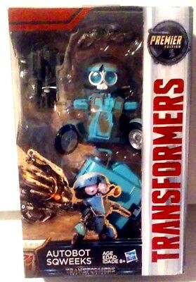 Transformers The Last Knight Premier Edition Deluxe Class Sqweeks New MISB