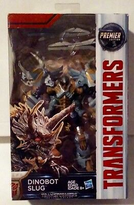 Transformers The Last Knight Premier Edition Deluxe Class Dinobot Slug New MISB