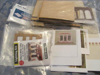 Roses Tea Room Shop Kit by Cynthia Howe Miniatures - 1/48th Scale