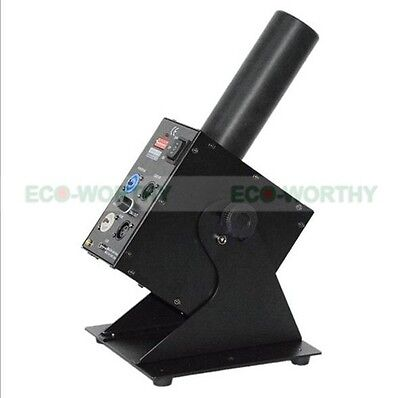 200W CO2 Jet Machine w/ 6m Gas Hose DMX Control for Party Disco Event Show 110V