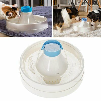 3L 360° Automatic Electric Pet Water Fountain Dog Cat Waterfall Drinking Bowl