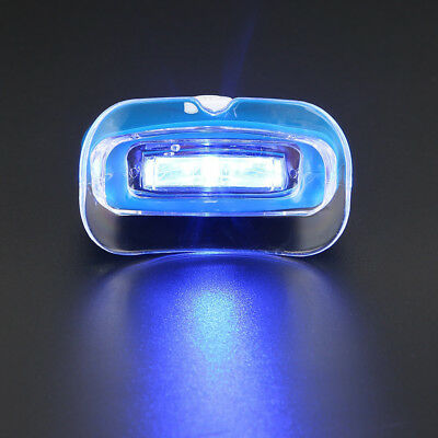 Blue LED Teeth Whitening Accelerator UV Light Dental Lamp Light GLARING