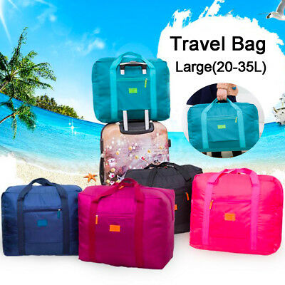 Waterproof Travel Big Foldable Luggage Bag Clothes Storage Carry-On Duffle Bags