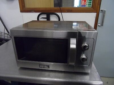 Buffalo GK643 1100w Commercial Manual Microwave Oven £125 + Vat