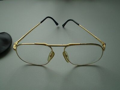 ***Vintage Dunhill Eyeglasses With Original Case - 1980's - Good Condition***