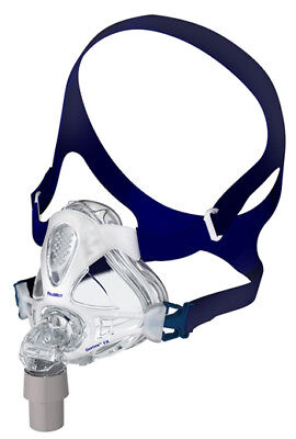 Mirage Quattro™ FX Full Face CPAP Mask with Headgear (Size S)