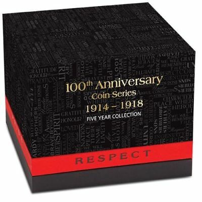 The ANZAC Spirit 100th Anniversary Coin SeriesCollectors Tin ( Tin Only )