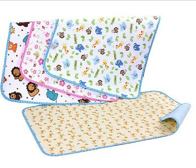 HOT Baby Kid Waterproof Bedding Diapering Sheet Protector Menstrual pad Pip eL