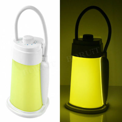 Handheld USB Night Light Desk Reading Lamp Camping Tent Lantern Portable 19LED