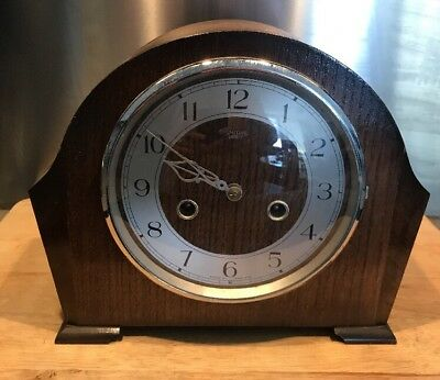 Smiths Enfield Vintage Mantle Clock - Needs Servicing