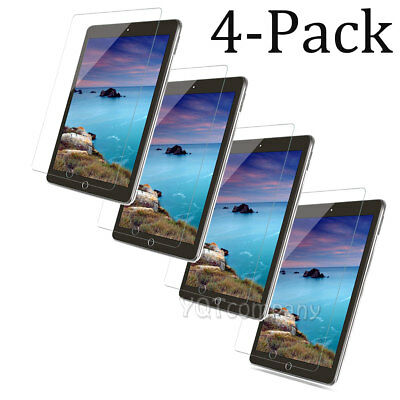 4-Pack [Tempered Glass] Screen Protector Film For Apple iPad Mini 1 2 3 4 7.9