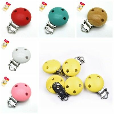 5pcs/lot Baby Pacifier Clip Holder Infant Dummy Clips For Baby Clasps Holders