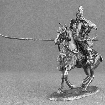 The Rider of The Auxiliary Cavalry Tin Toy Soldiers Metal Sculpture Miniature Figure Collection 54mm A87 Scale 1//32 Tin Army Rome, 1st Century AD