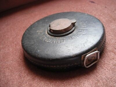Chesterfield Tape Measure Made in Sheffield England
