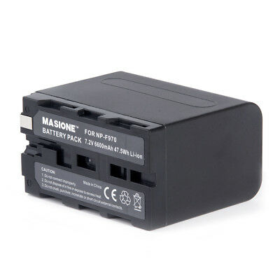 NP-F970 8700mAh Li-ion Battery For Sony NP-F550 NP-F770 NP-F570 NP-F950 NP-F960
