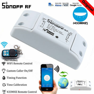 Sonoff Smart Home Steckdose WIFI&RF433 Switch Modul für Android ISO APP Control
