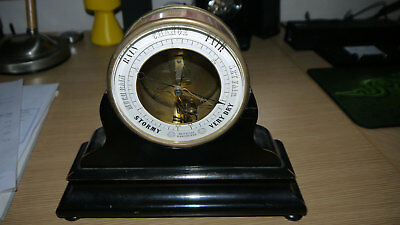 Bourdon & Richard Patent Metallic Barometer On Stand - 1849 Exhibition Medal